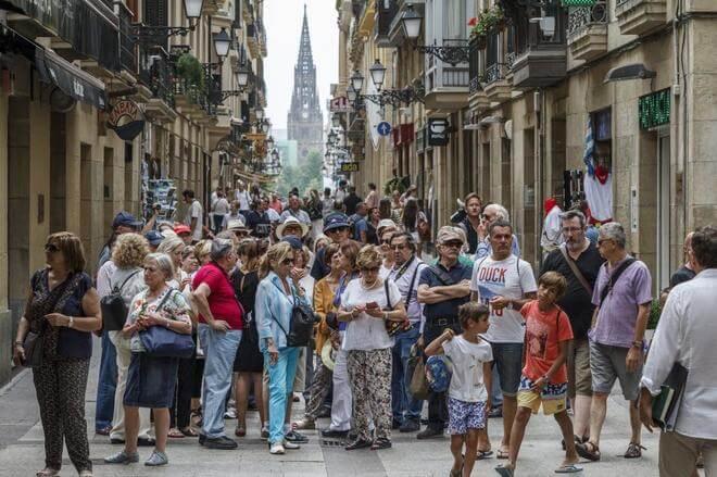 Visitas en España de Francia
