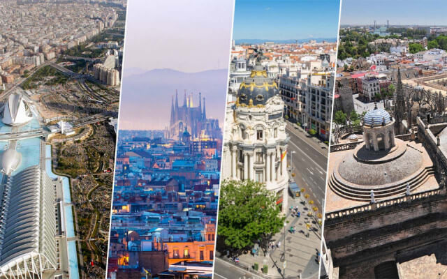 Ciudades que ver en España de Francia